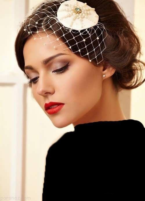 شیک ترین مدل های آرایش عروس سبک اروپایی
