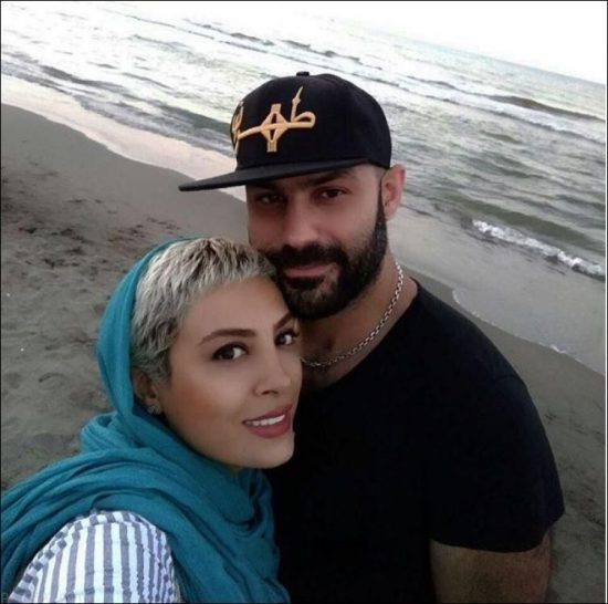 عکس های جدید حدیثه تهرانی در کنار همسرش