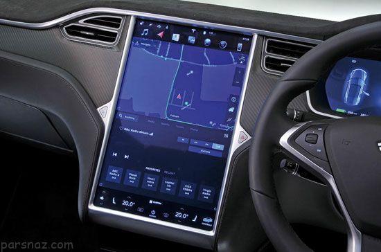 همه چیز درباره آپشن های خودرو تسلا مدل S