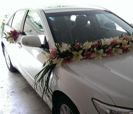 مدل ماشین عروس | تزیین ماشین عروس