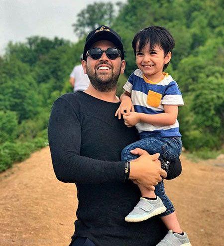 آخرین عکس های بازیگران ایرانی و فرزندانشان