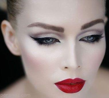 مدل آرایش چشم و ابرو | آرایش لب | آرایش صورت