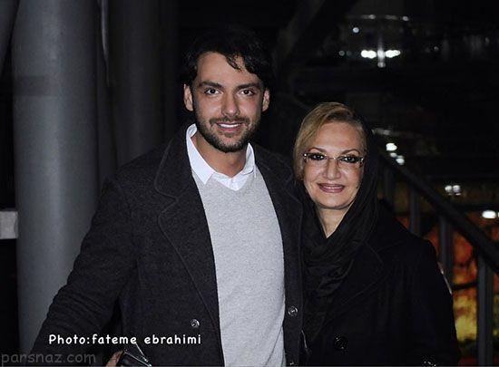 عکس های جدید بازیگران ایرانی در کنار والدینشان