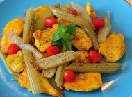روش تهیه خوراک مرغ و کرفش خوشمزه و عالی