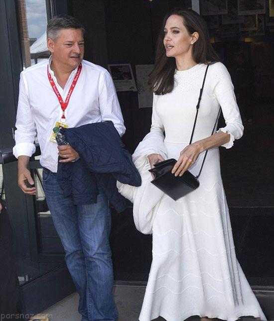 استایل جدید آنجلینا جولی و فرزندانش در جشنواره تلوراید