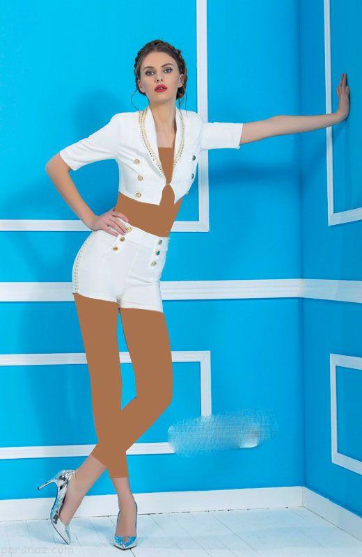 مدل لباس مجلسی اسپرت جین برند Nice Istanbul