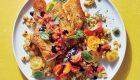 طرز تهیه خوراک ماهی و سبزیجات خوش طعم