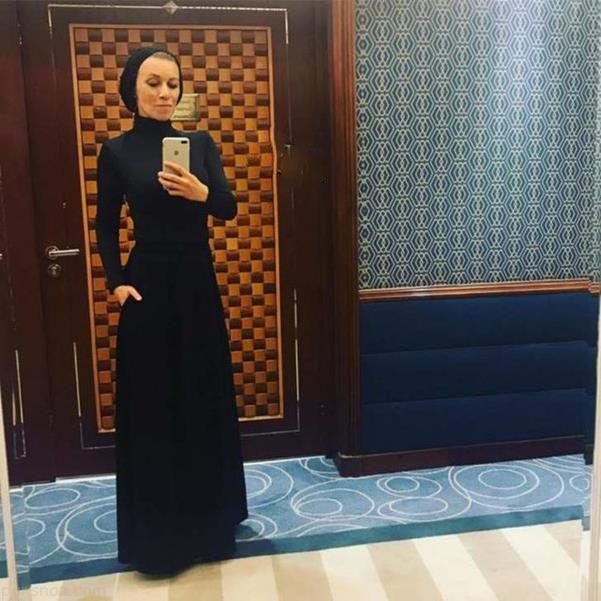 استایل متفاوت زن وزیر روس در کشور عربستان