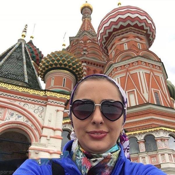استایل های خفن نفیسه روشن در سفر روسیه