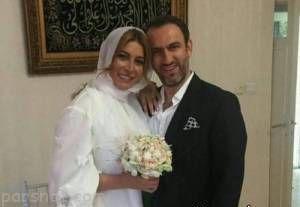 فریبا نادری از همسر جدیدش باردار شد
