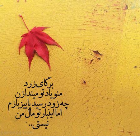 عکس نوشته های ویژه فصل پاییز خواندنی و زیبا