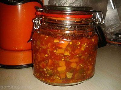 طرز تهیه ترشی گوجه فرنگی لیته خوشمزه