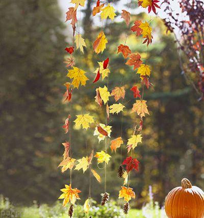 دکوراسیون و چیدمان منزل به سبک فصل پاییز