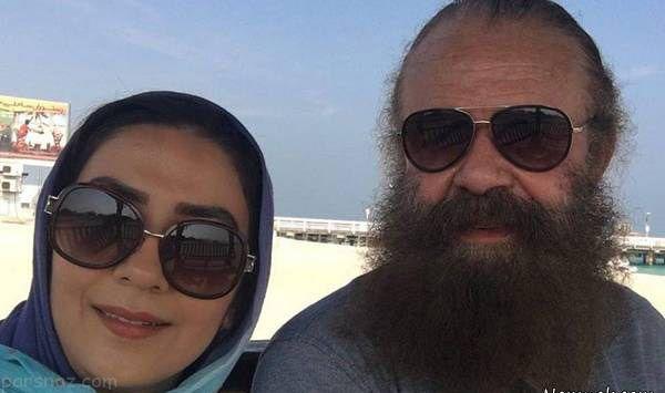اختلاف سنی 28 ساله زوج بازیگر مشهور سینما