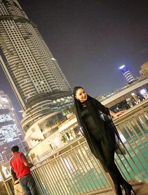 تیپ خفن شقایق دلشاد بازیگر شهرزاد در دوبی