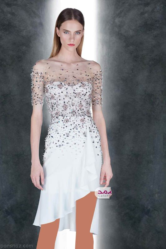 مدل لباس مجلسی شیک برند Pamella Roland
