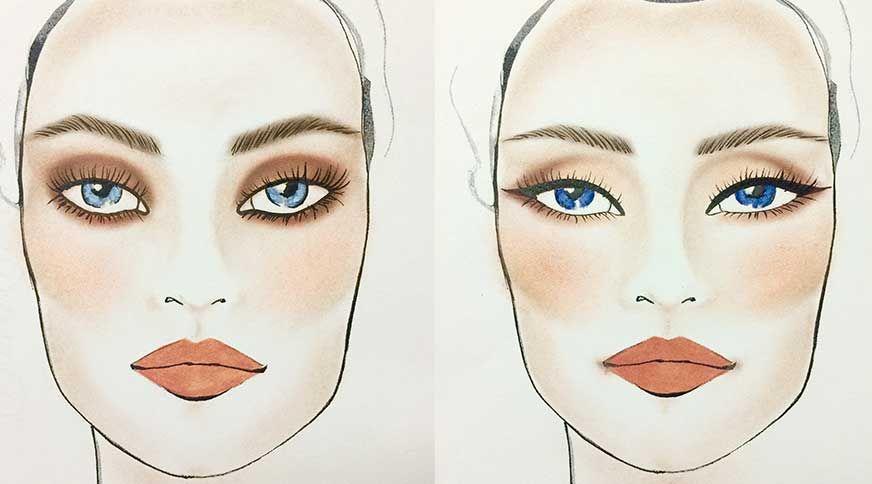 خط چشم مناسب برای رنگ چشم های شما کدام است؟