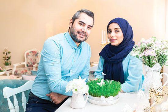 دکوراسیون رمانتیک زن و شوهر جوان تهرانی
