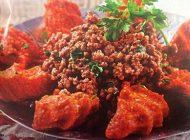 آموزش تهیه کباب عربی همراه با کوفته سیب زمینی