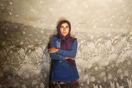 دختران جوان ایرانی که به خاطر سوء تغذیه پیر شده اند