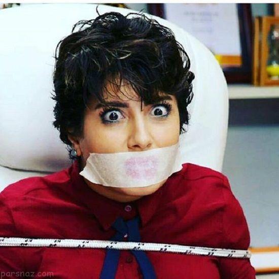 توصیه بازیگر ایرانی شبکه جم درباره حجاب به بازیگران زن