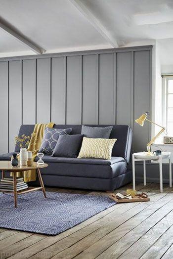 چیدمان و دکوراسیون منزل با استفاده از رنگ خاکستری