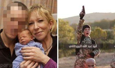 زن بیوه سفید داعش همراه با پسرش کشته شد