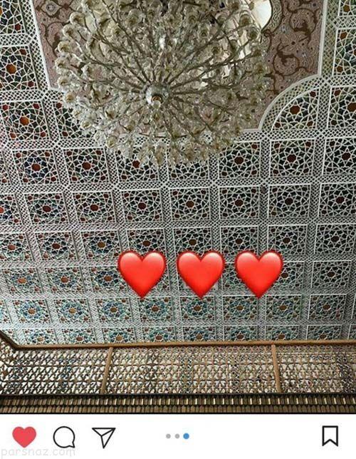 نورگل یشیلچای بازیگر مشهور ترکیه ای در اصفهان