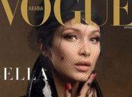 تصاویر جدید بلا حدید مدل مشهور روی مجله ووگ