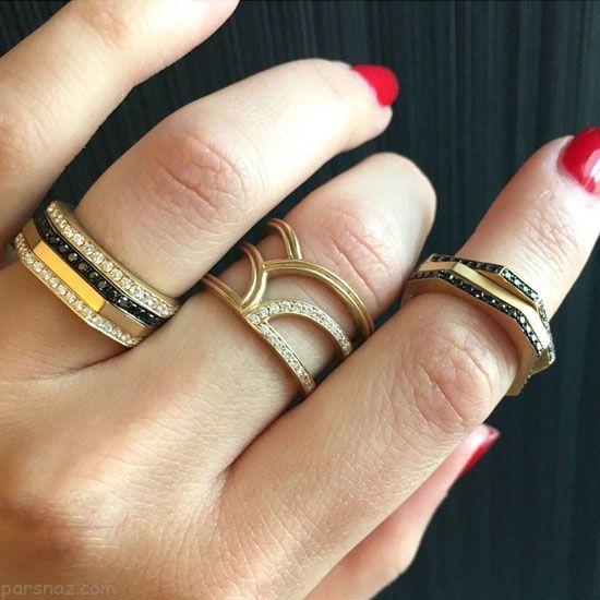 مدل های انگشتر و دستبند طلا برند Dorynwallach