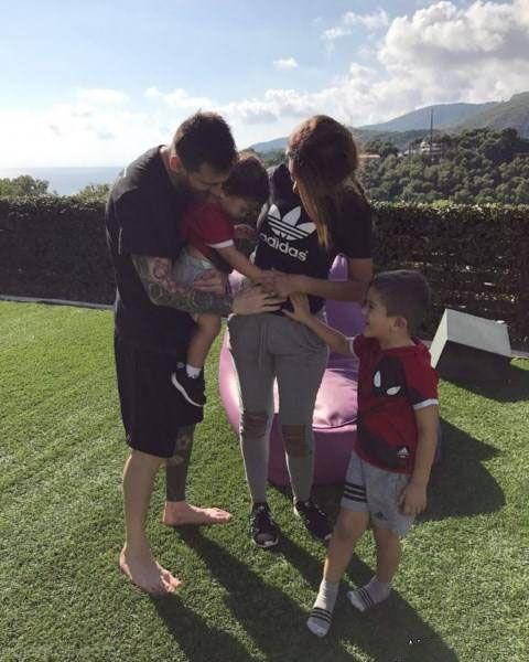 بارداری همسر لیونل مسی برای سومین بار +عکس