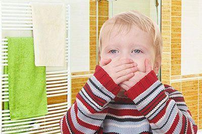 بهترین روش ها برای درمان حالت تهوع کودکان