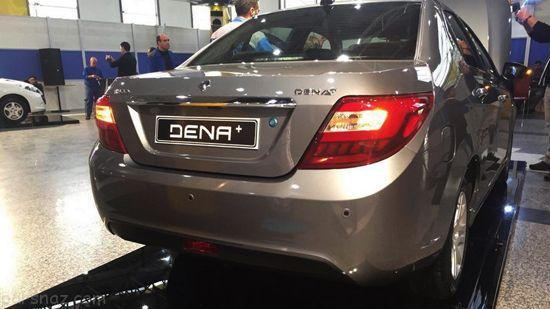 نگاهی به خودرو دنا پلاس EF7 و امکانات آن