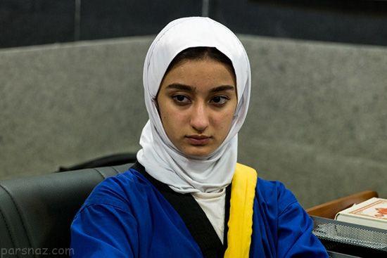 همراه با زهرا یزدانی دختر قهرمان کشتی ایران