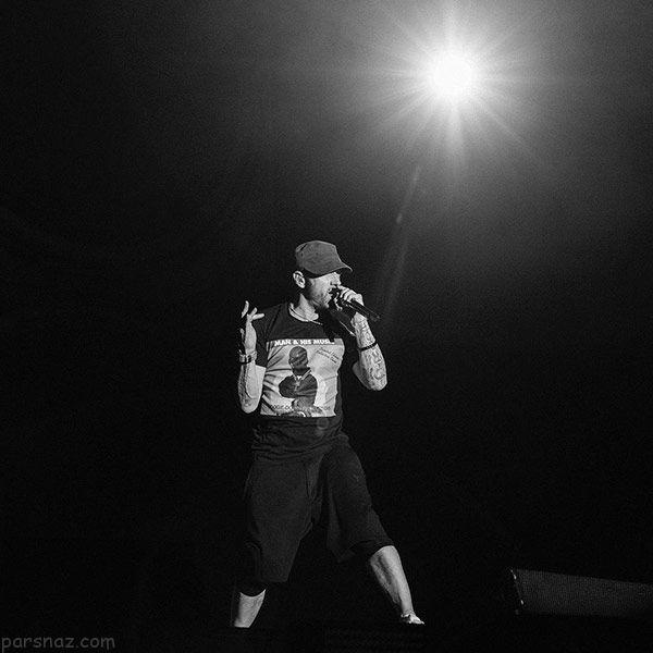 بیوگرافی کامل امینم سلطان رپ جهان +عکس