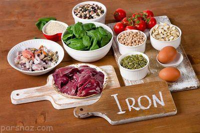 معرفی 8 منبع غذایی سرشار از آهن