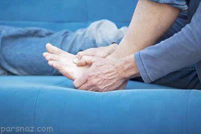 بیماری های شایع پاها و روش های درمان آن