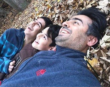عکس های بازیگران در کنار فرزندانشان در آبان ماه