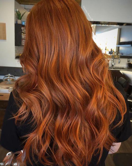 مدل های جدید هایلایت مو و رنگ موی زنانه 2017