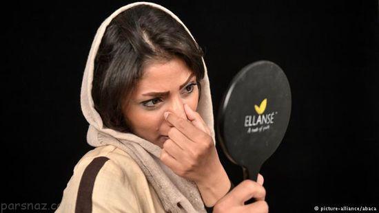 عمل جراحی بینی دختران ایرانی به روایت تصویر