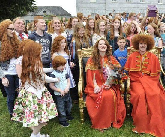 فستیوال دختران و پسران موقرمز در هلند