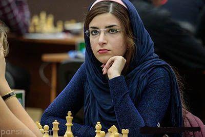كشف حجاب دختر شطرنج باز ایرانی در تیم ملی آمریكا