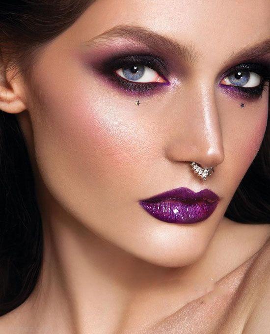 مدل های آرایش غلیظ و فشن مجلسی 2017