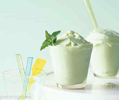 روش تهیه بستنی نعناع خوشمزه برای کودکان