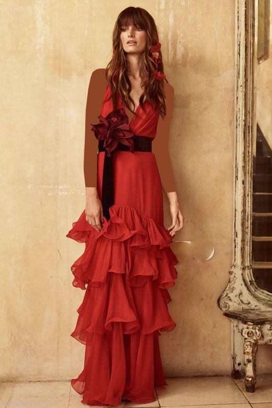 مدل لباس مجلسی شیک برند Johanna Ortiz