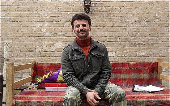 مصاحبه با امین حیایی بازیگر همیشه جوان سینمای ایران