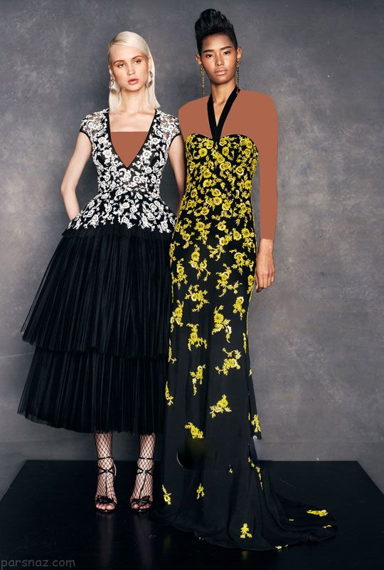 مدل لباس مجلسی شیک و جدید برند Naeem Khan