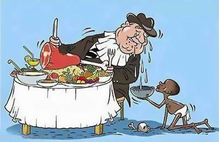 کاریکاتورهای جالب درباره فقر در جامعه