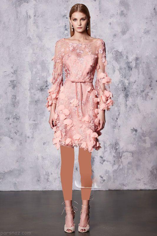 شیک ترین مدل لباس مجلسی برند Marchesa Notte