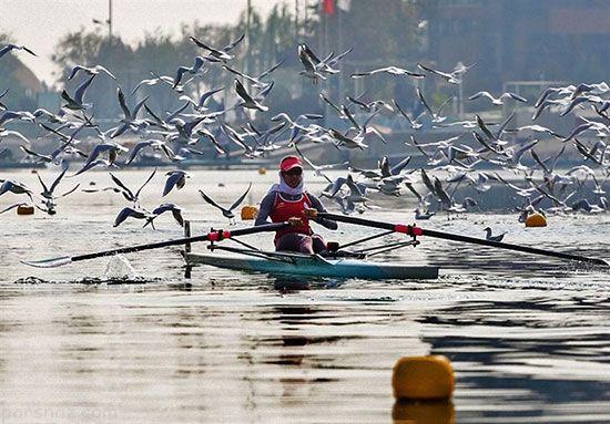 گفتگو با نازنین رحمانی بانوی قهرمان قایقرانی آسیا